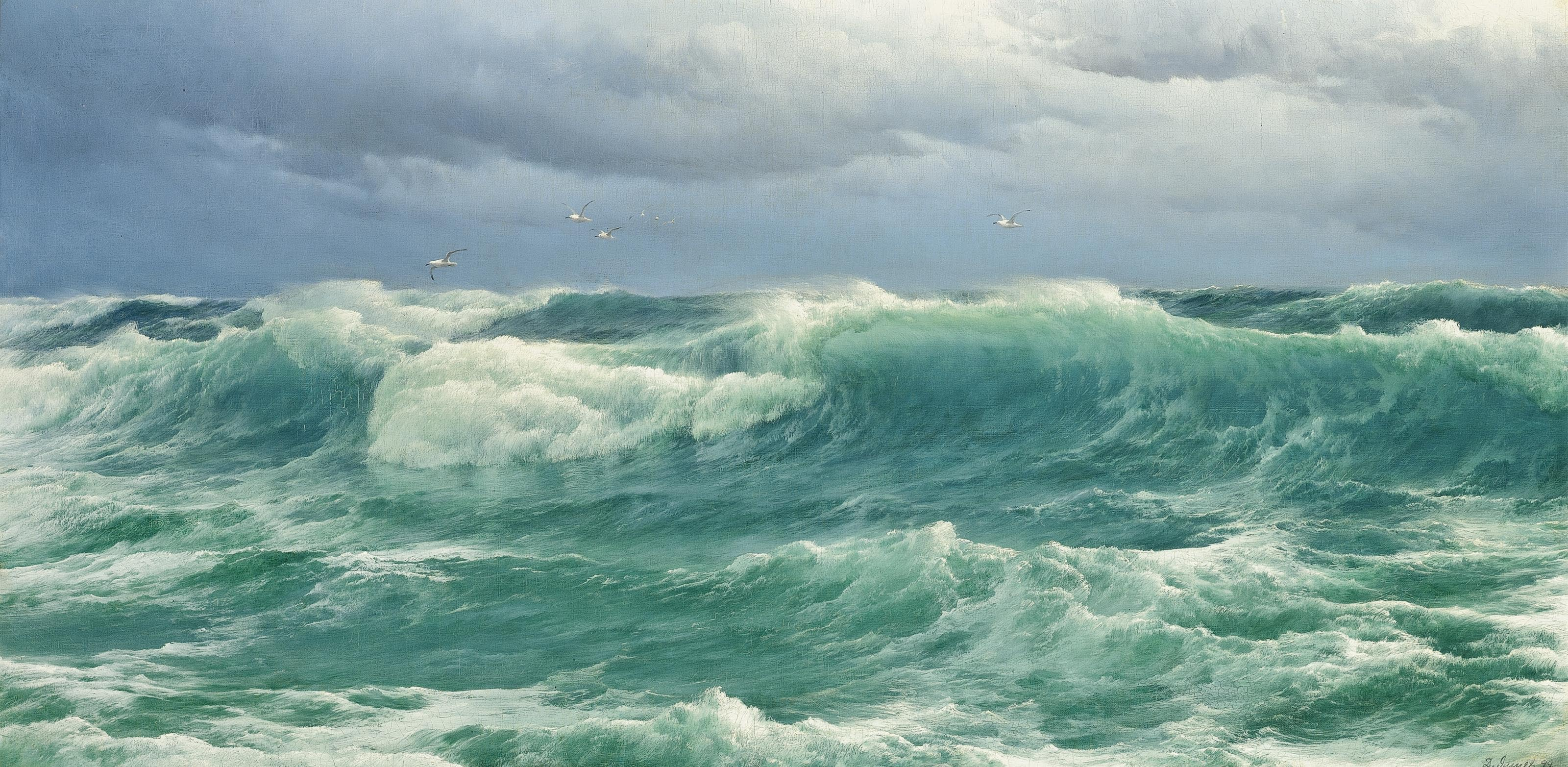 'When the Wind blows the Sea in'