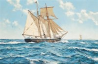 The topsail schooner Oceanide