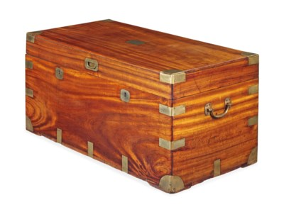 A CHINESE EXPORT CAMPHORWOOD A