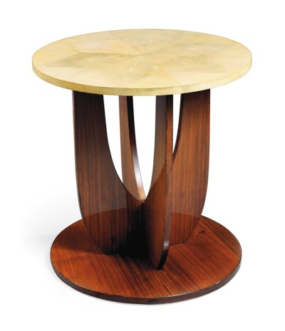 AN INDIAN ROSEWOOD AND SHAGREE