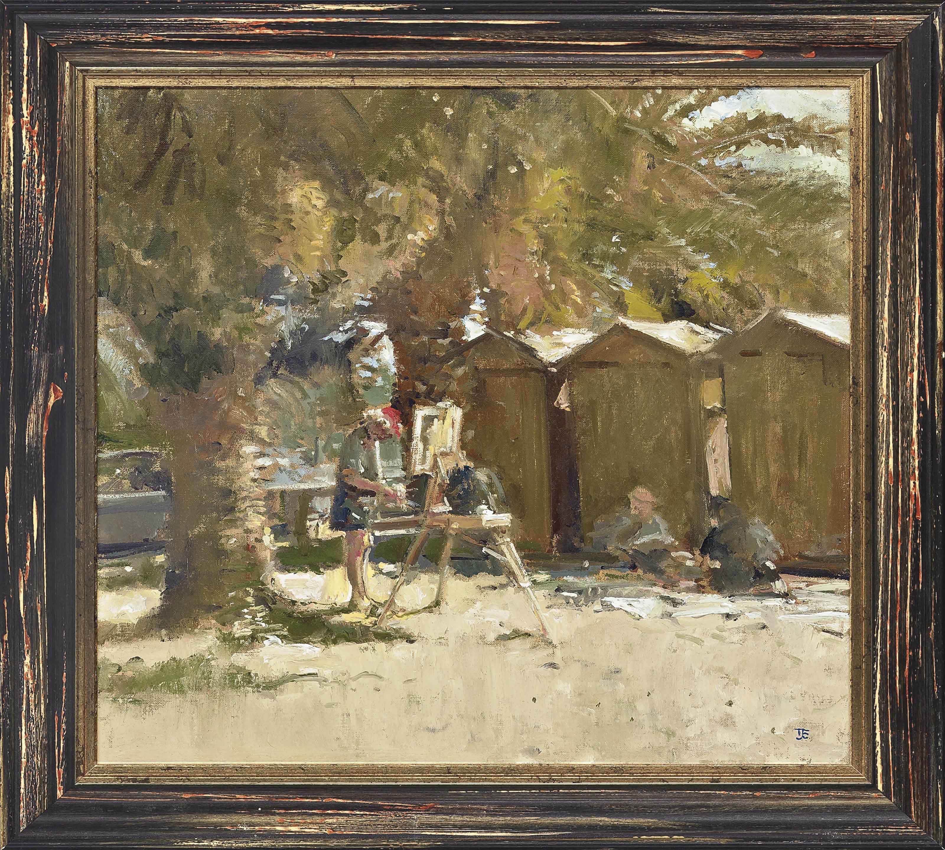 Ken Howard at Campese, Giglio