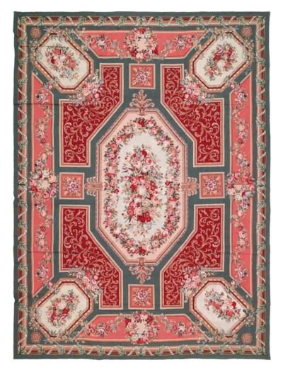 A needlepoint carpet of Aubuss