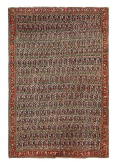 A fine antique Senneh rug