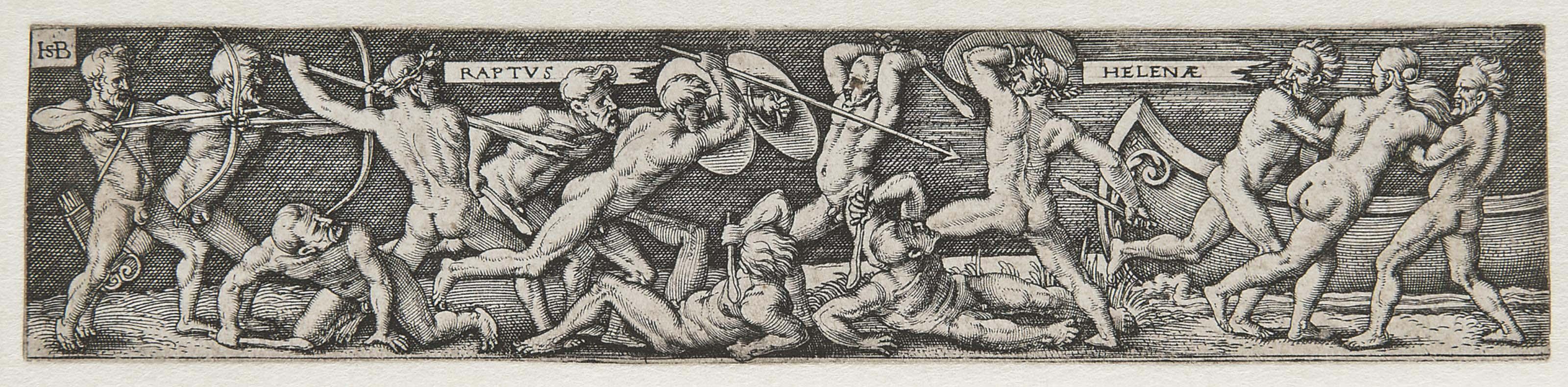 The Rape of Helena (Bartsch 70; Pauli 73)