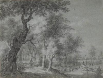 Circle of Anthonie Waterloo (L
