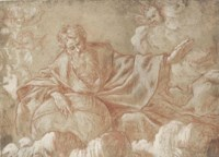 God the Father with Putti, after Giulio Carpioni
