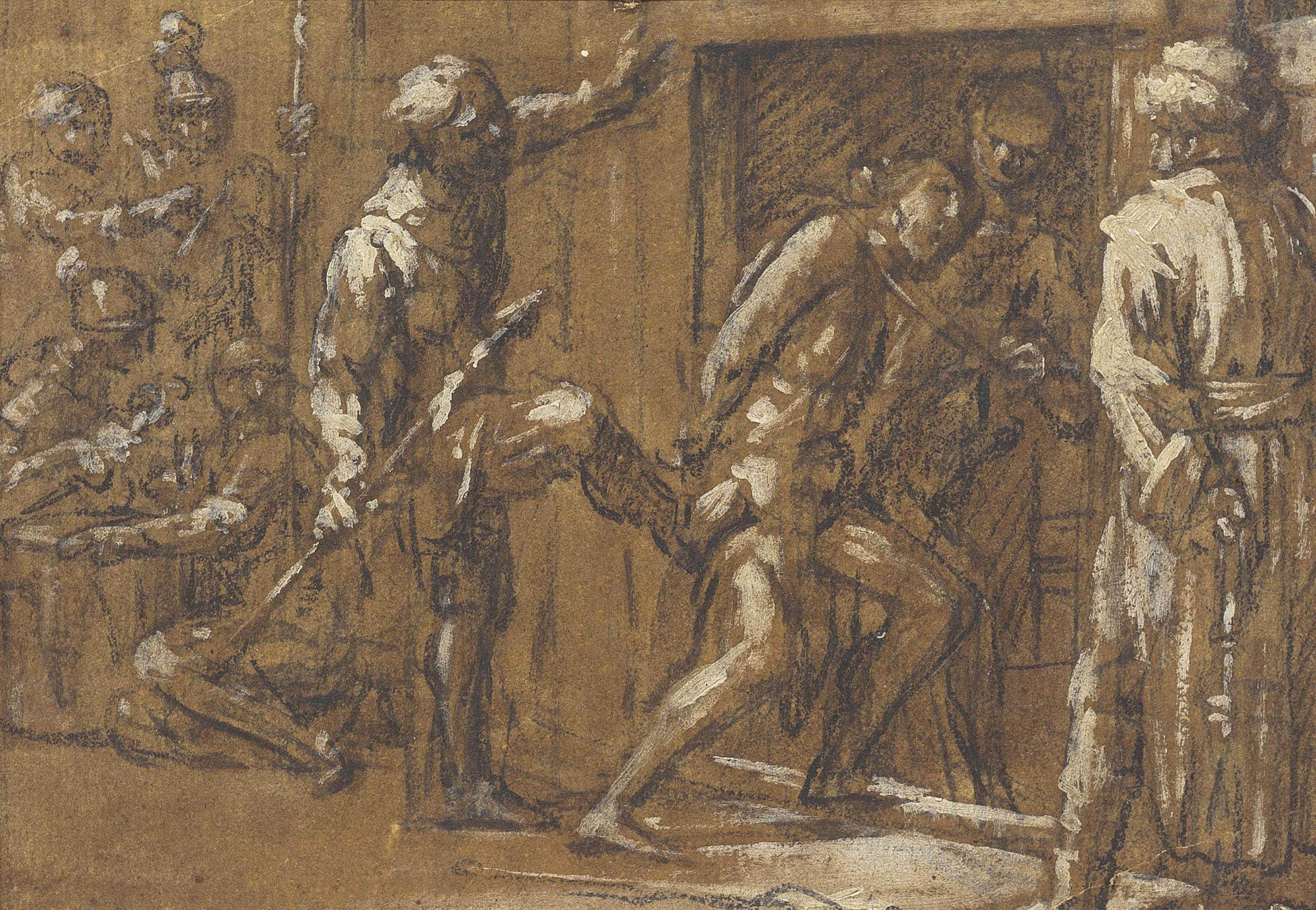 Christ cast into Prison