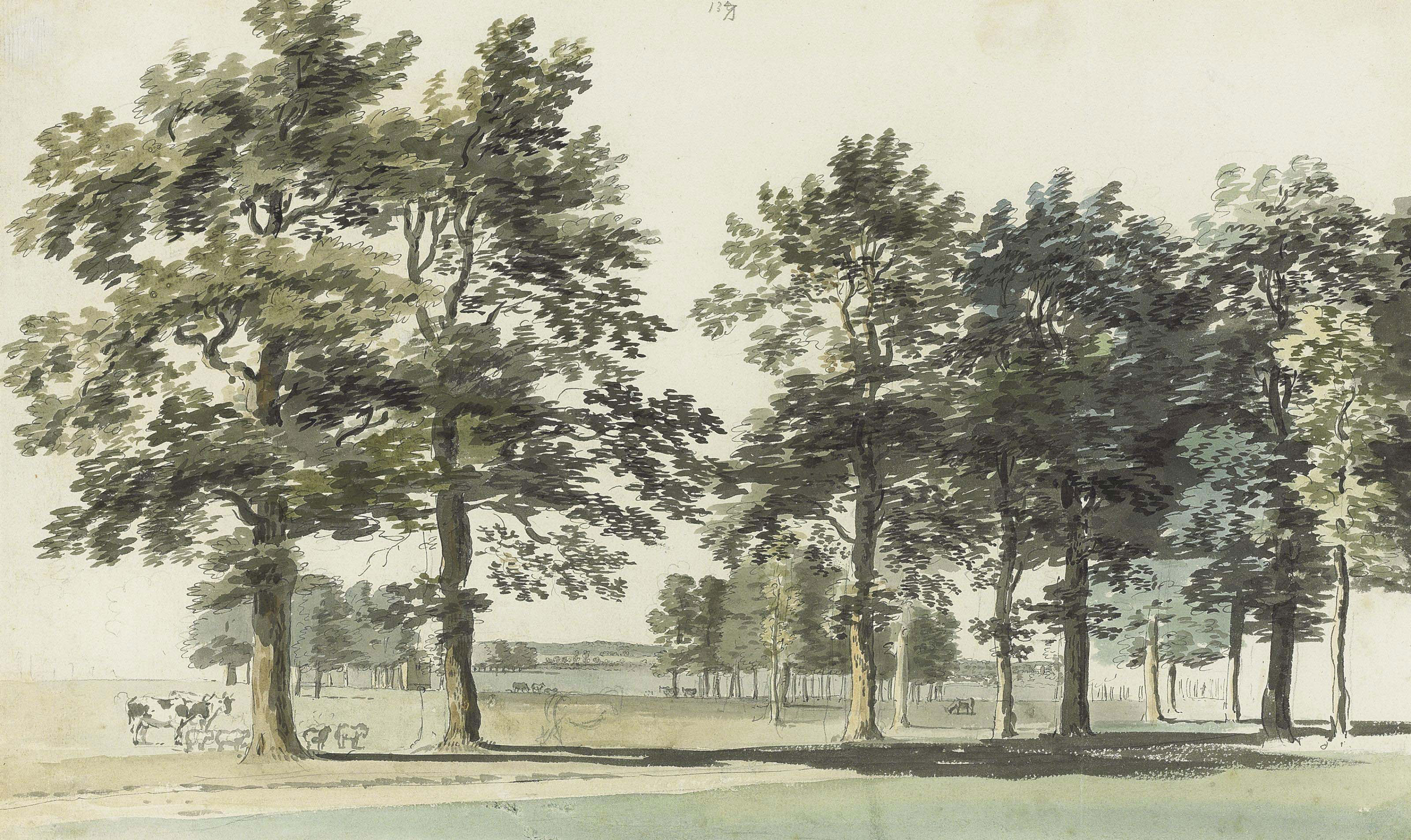 The Moat Island, Windsor Great Park