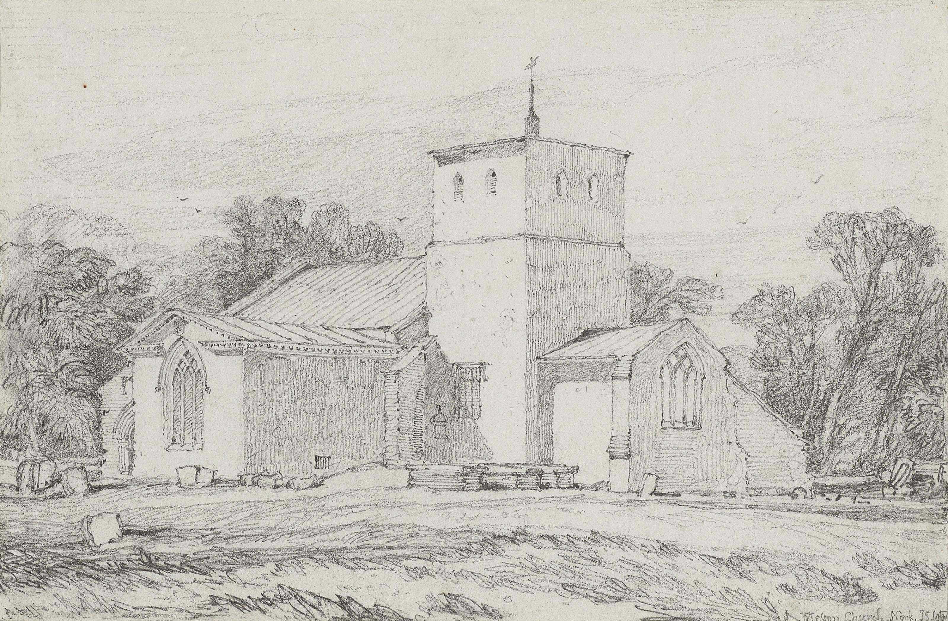 Melton Church, Norfolk