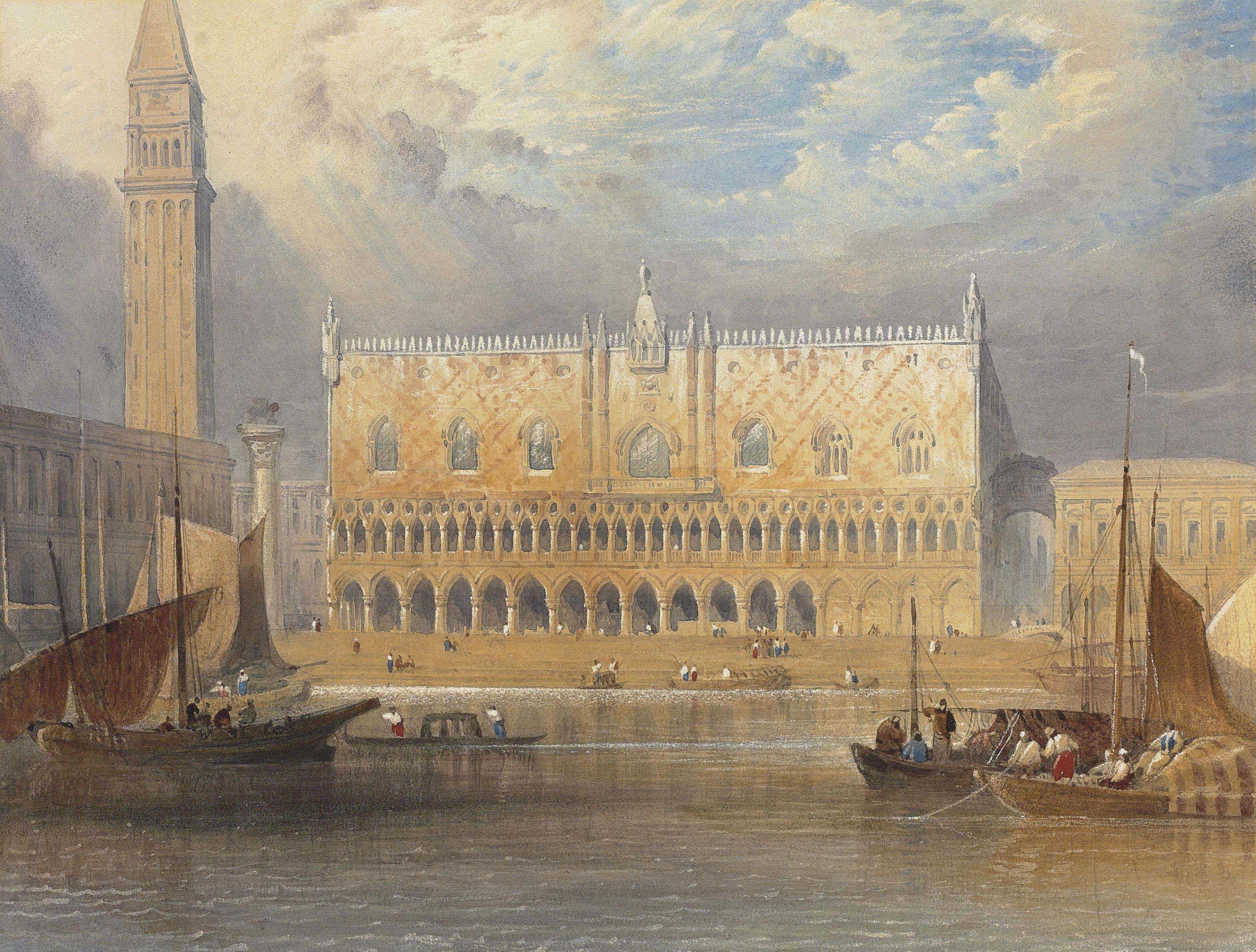 The Ducal Palace, Venice