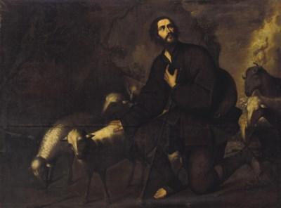 Circle of Jusepe de Ribera, lo