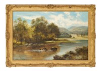A riverside picnic