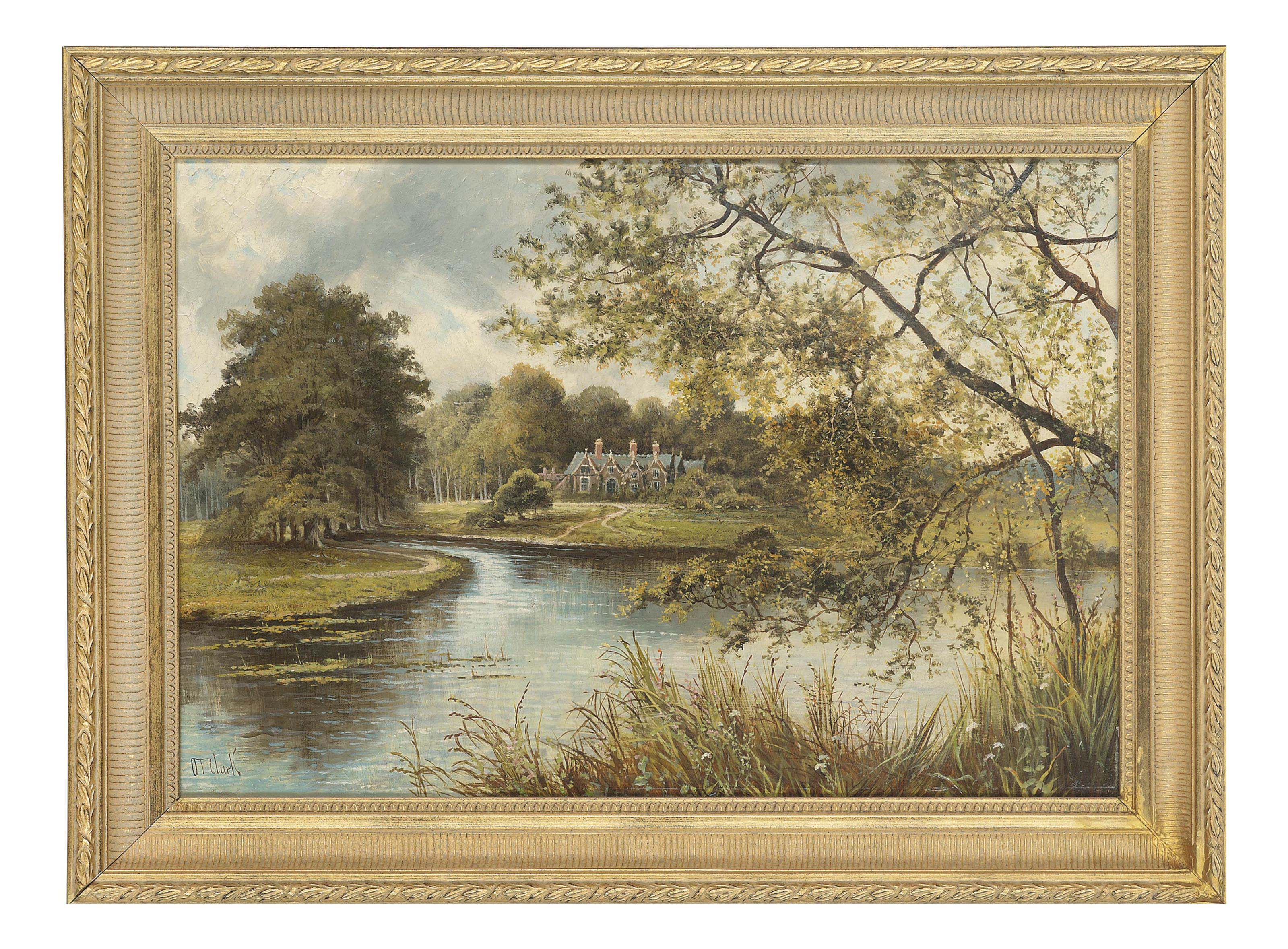 Cottage, thought to be at Sandringham