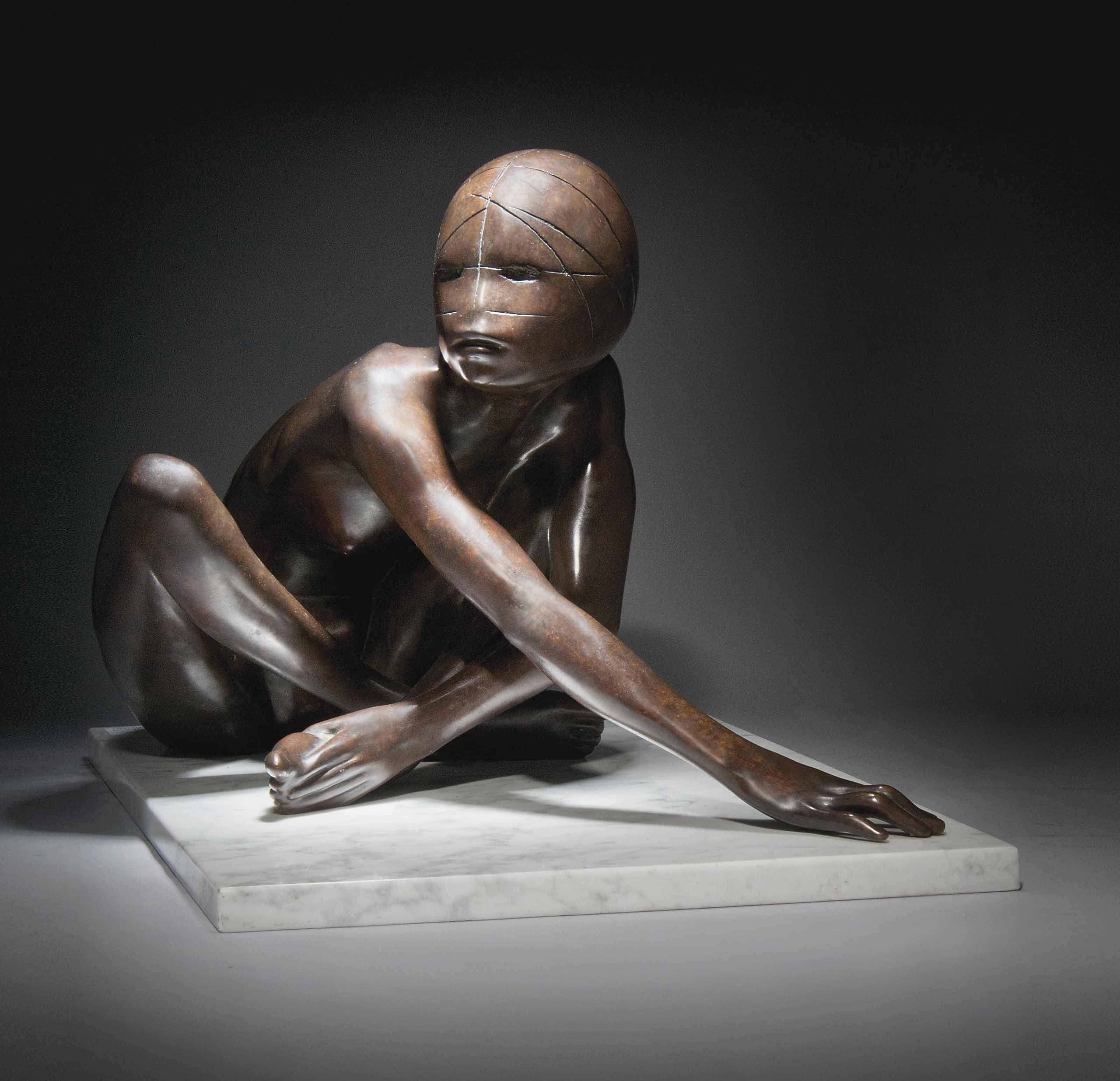 Crouching Girl II