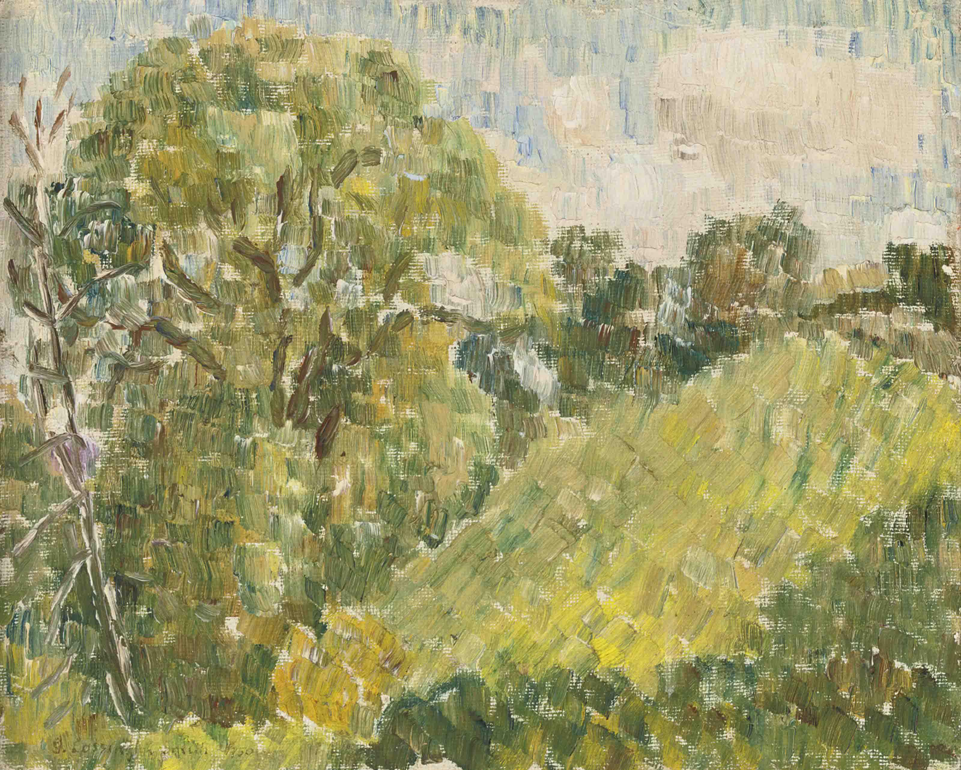 Hill side, Trusham