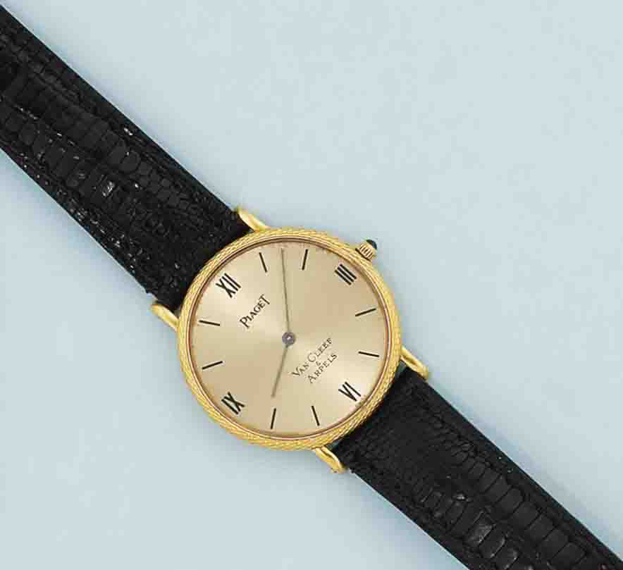 A wristwatch, by Van Cleef & Arpels for Piaget