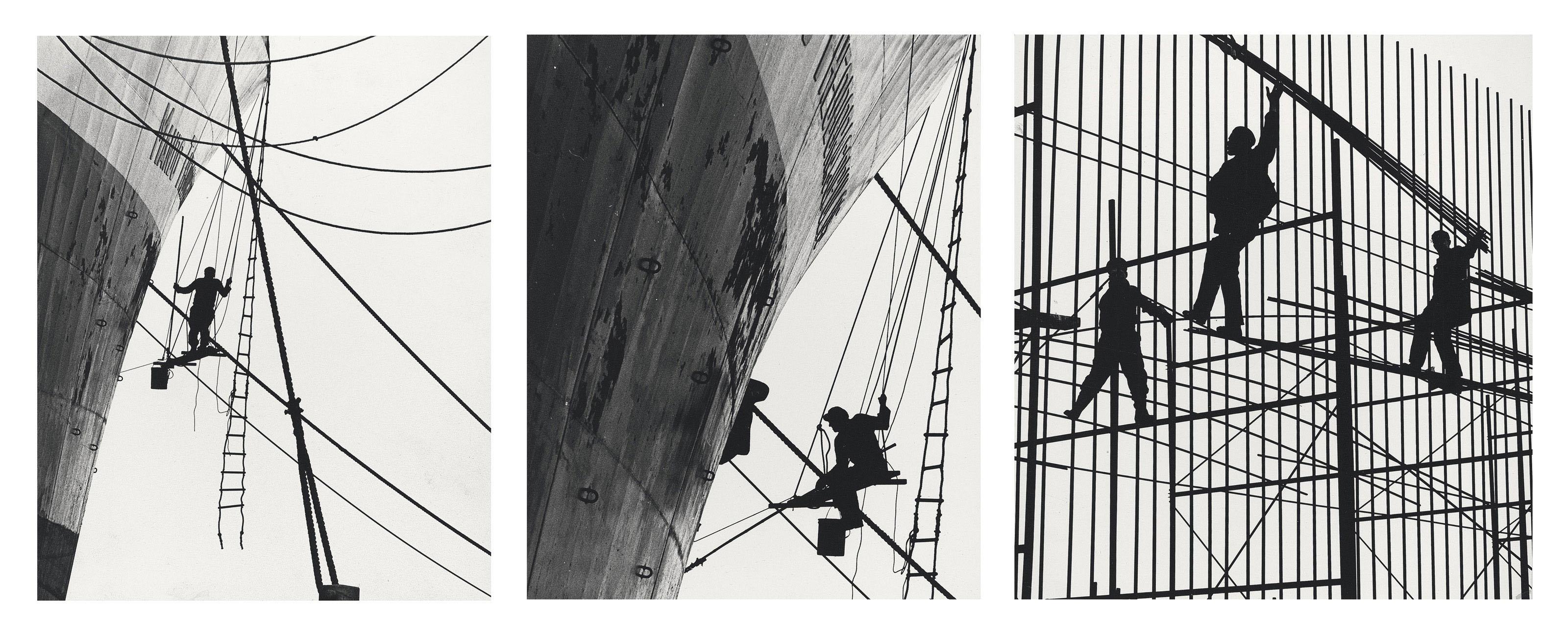 Three urban landscapes, c. 1960