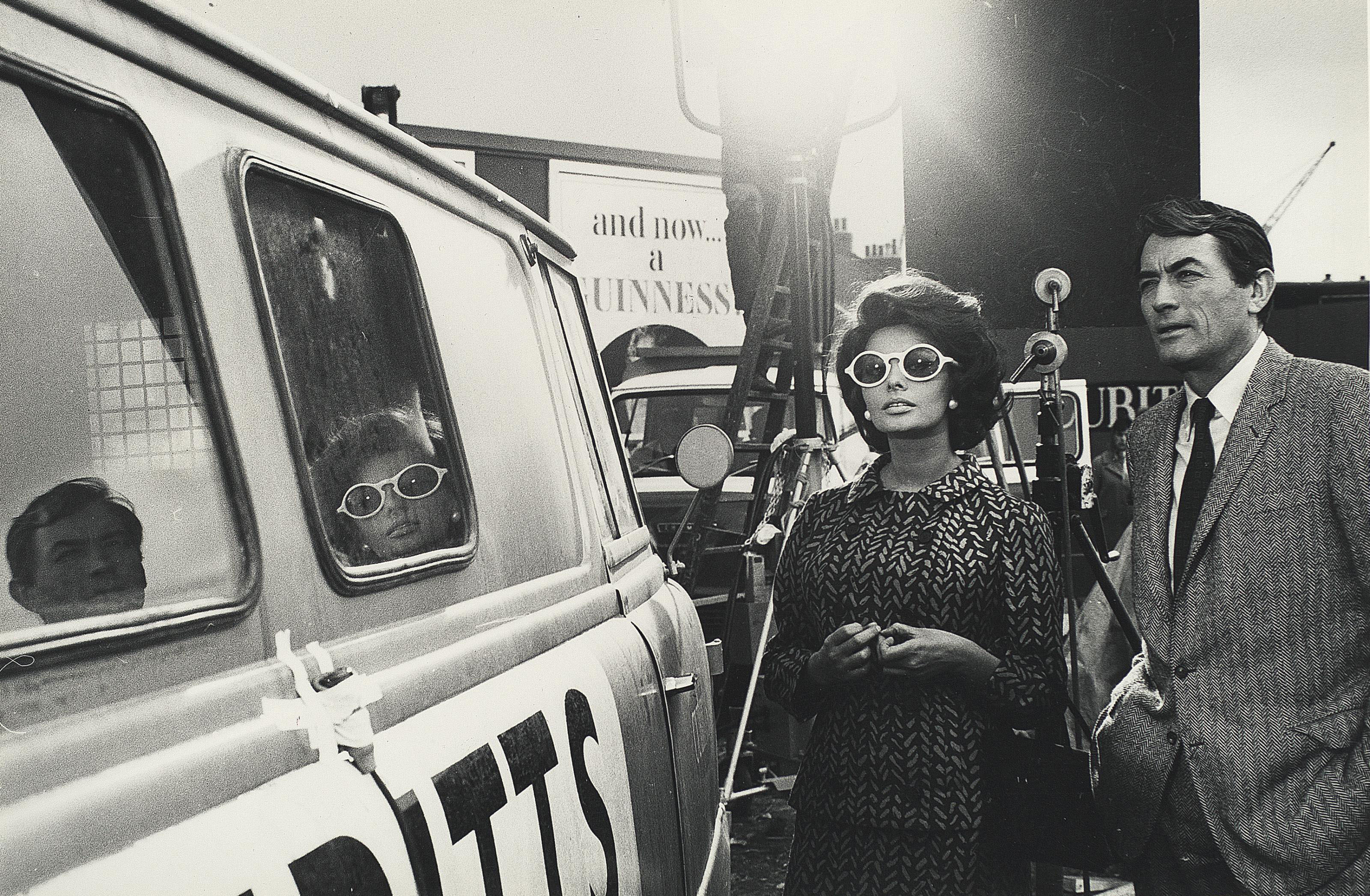 Sophia Loren and Gregory Peck, 1966