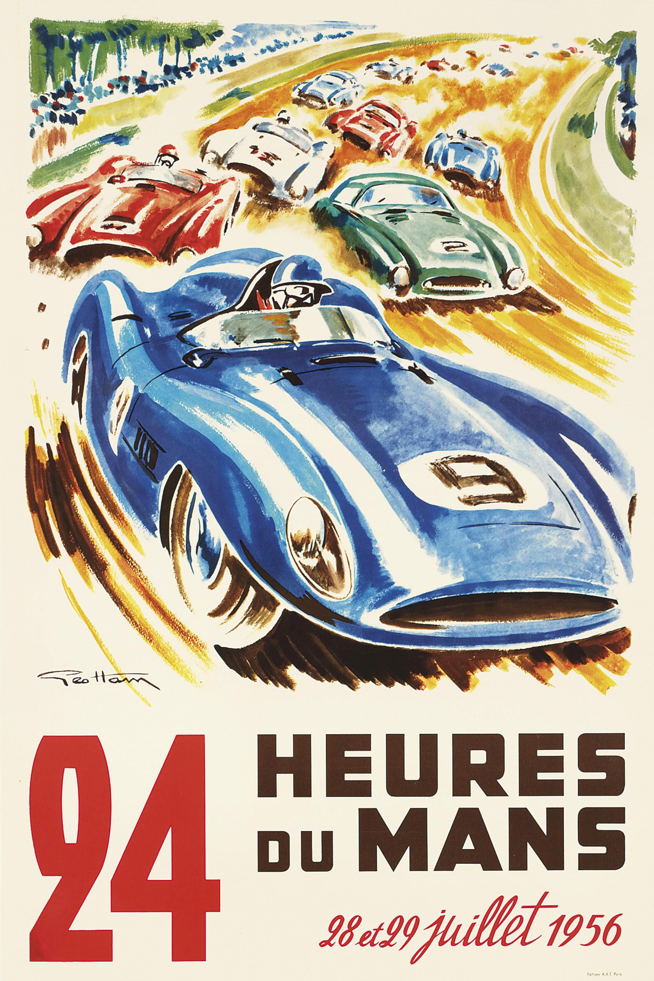 24 HEURES DU MANS, 1956