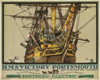 H.M.S. VICTORY, PORTSMOUTH