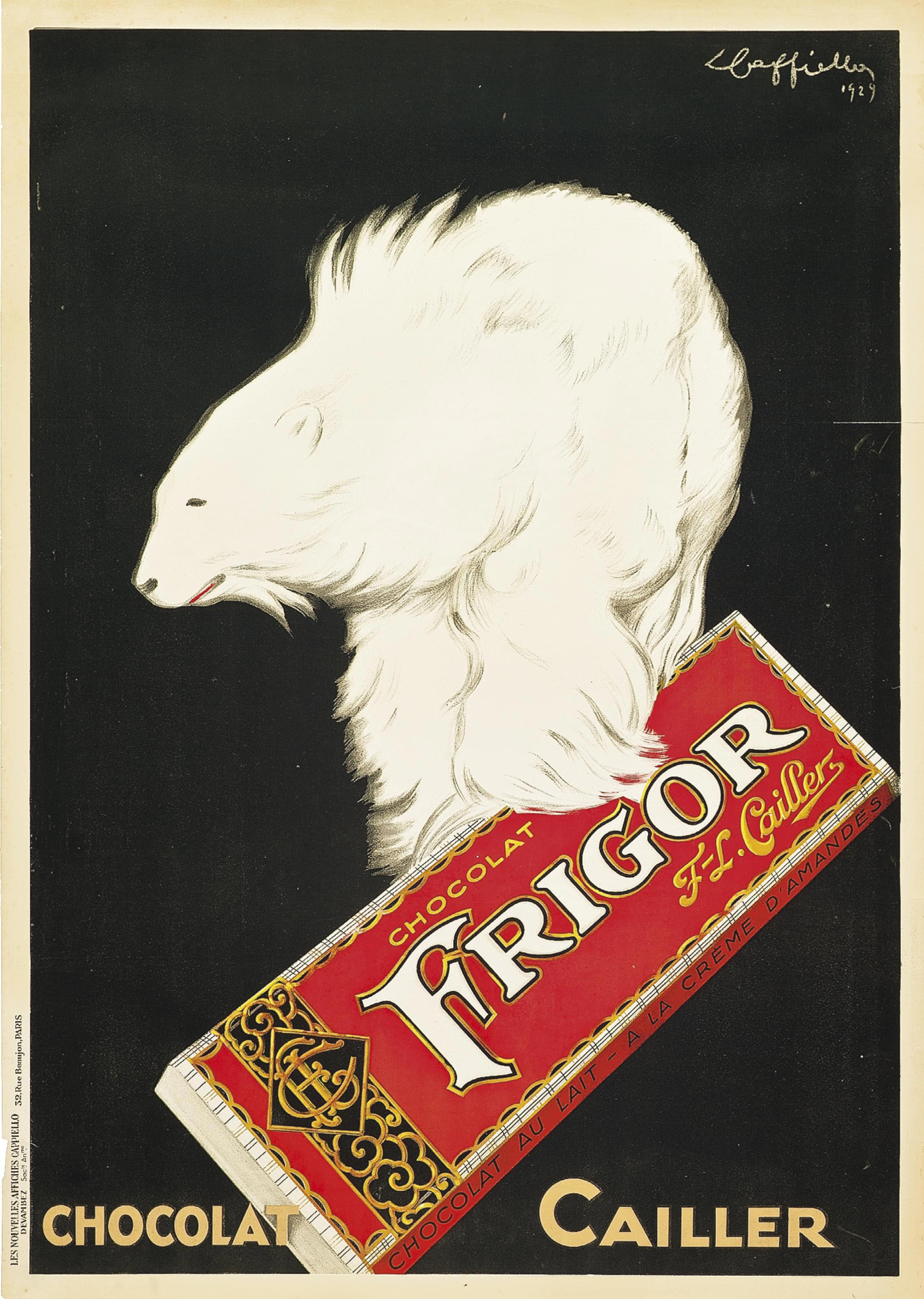 FRIGOR, CHOCOLAT CAILLER