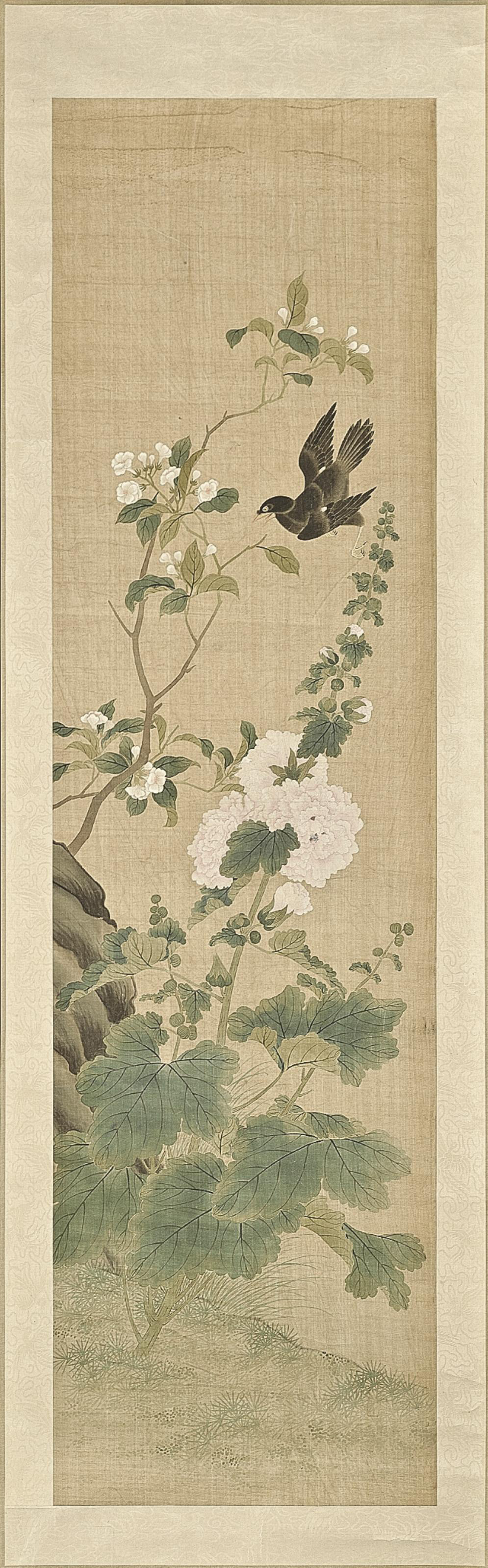 A CHINESE HANGING SCROLL