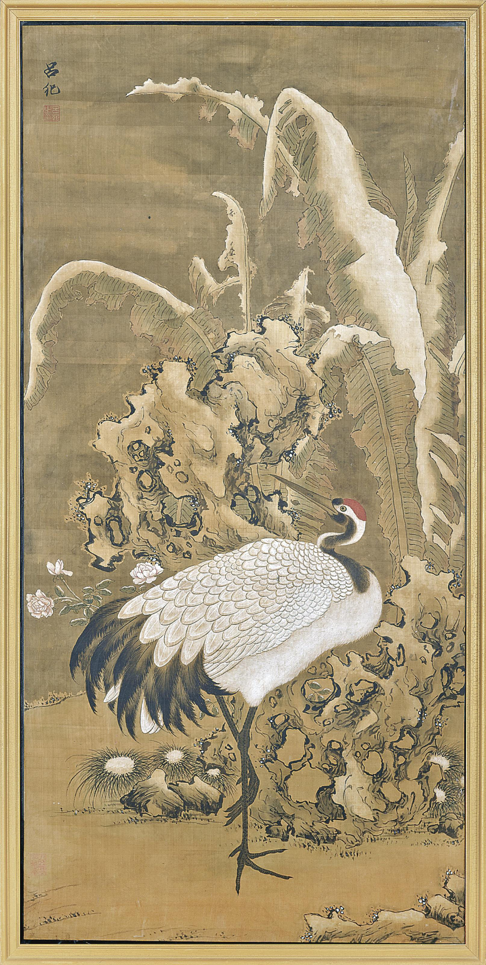 A LARGE CHINESE PAINTING