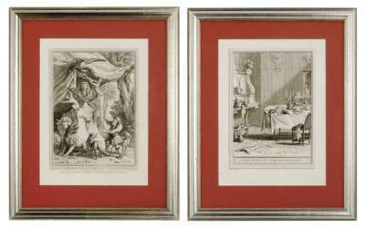 TEN FRENCH ENGRAVINGS FROM 'LE