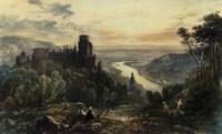 View of Heidelburg on the Rhine