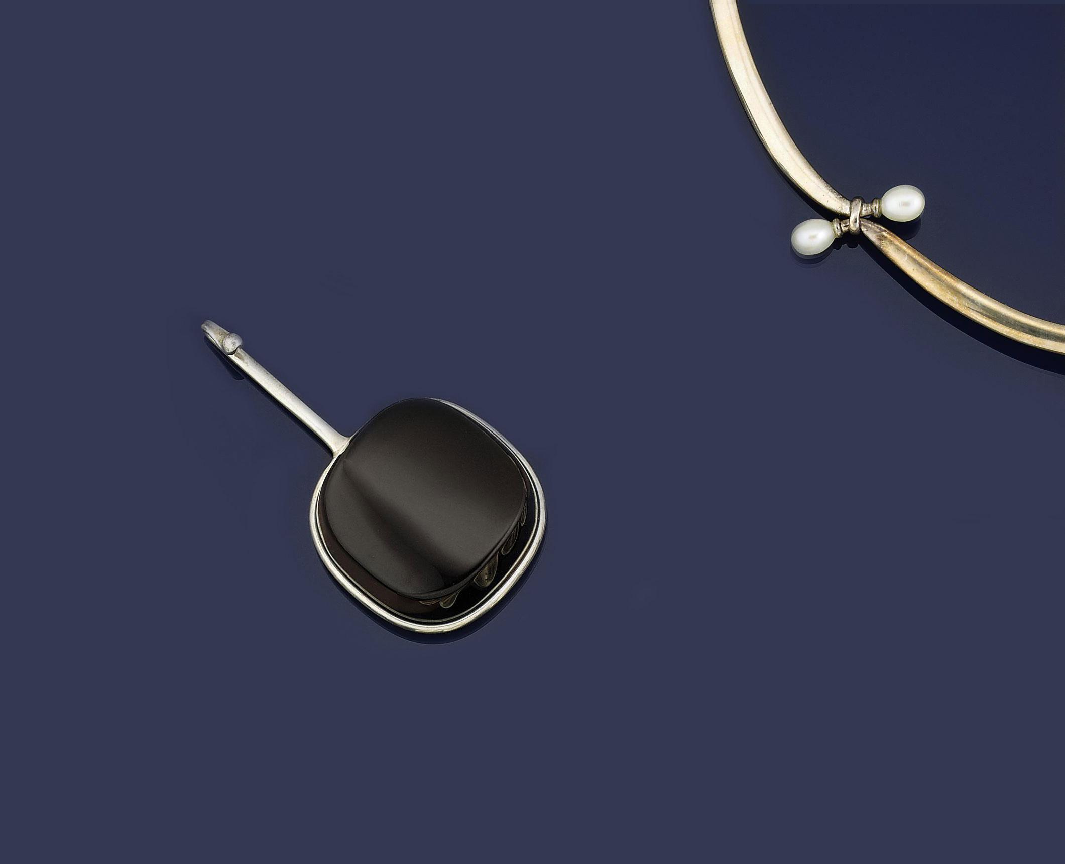 Two necklaces, by Viviana Torun Bulow-Hube for Georg Jensen