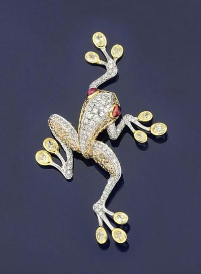 A tourmaline, coloured diamond