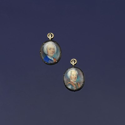 Two small early 18th century p