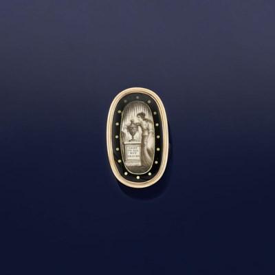 A George III neo-classical gol