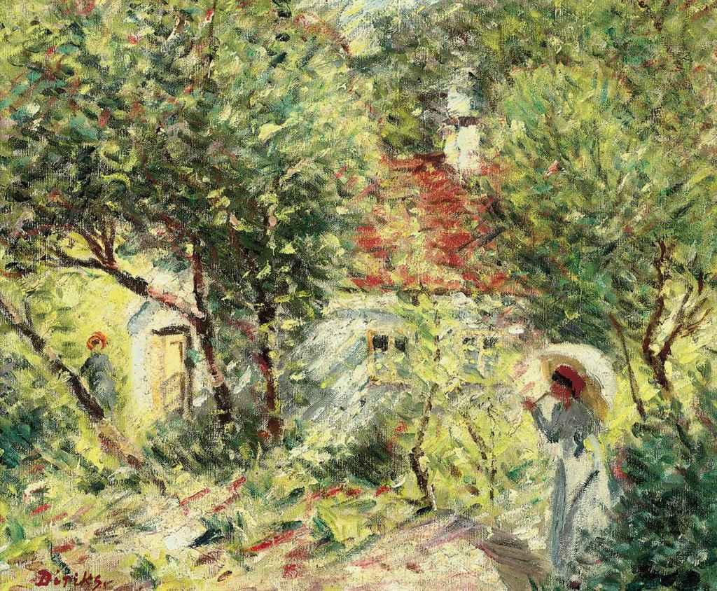 I hagen av Renoir i Les Collettes