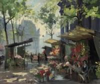 Marché aux fleurs, Paris