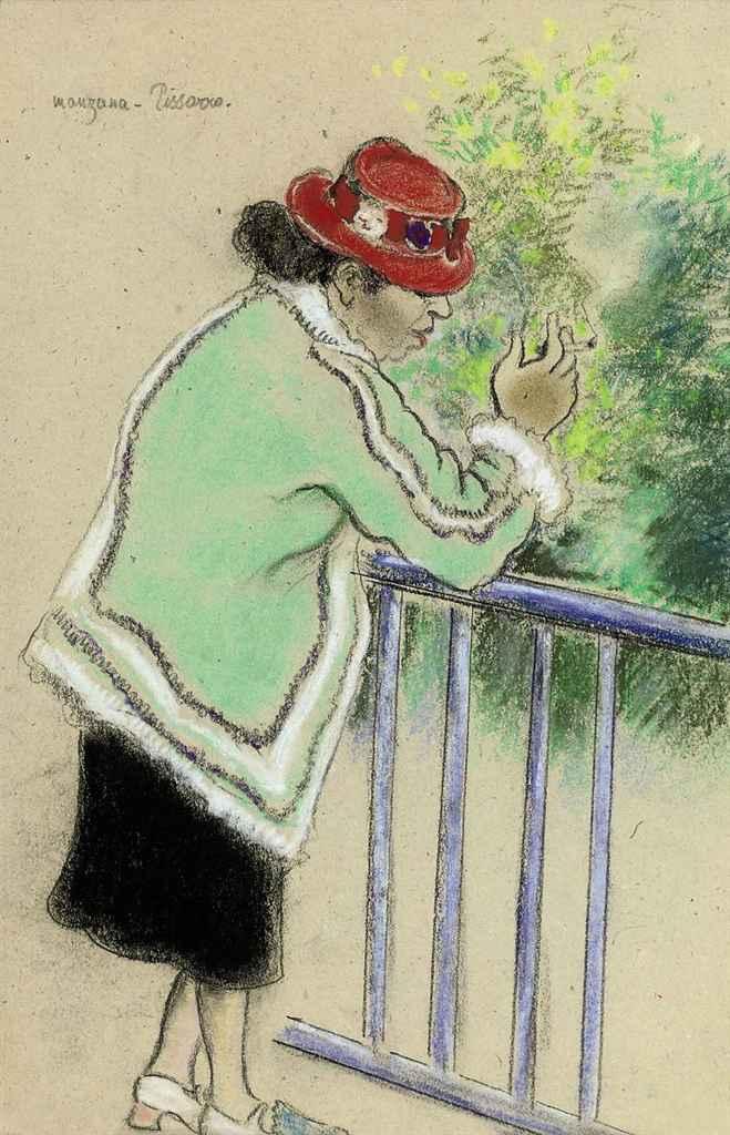 Femme fumant, Roboa