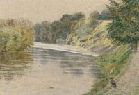 On the banks of the Teme, Ludlow