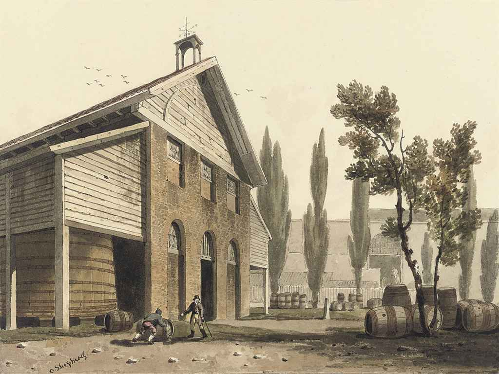 Beaufoy's vinegar yard, Lambeth, London