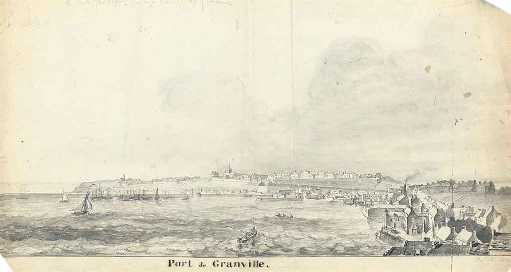Port de Granville, France