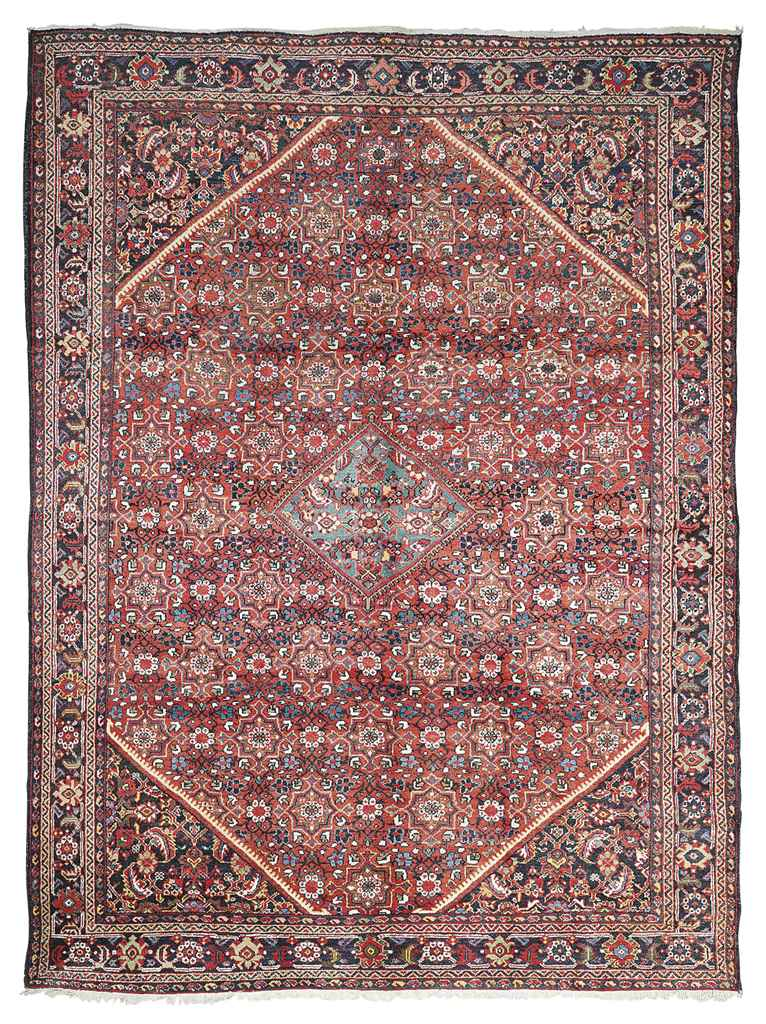 A MAHAL CARPET, WEST PERSIA