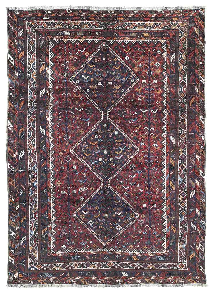 A HAMSEH CARPET, SOUTH-WEST PE