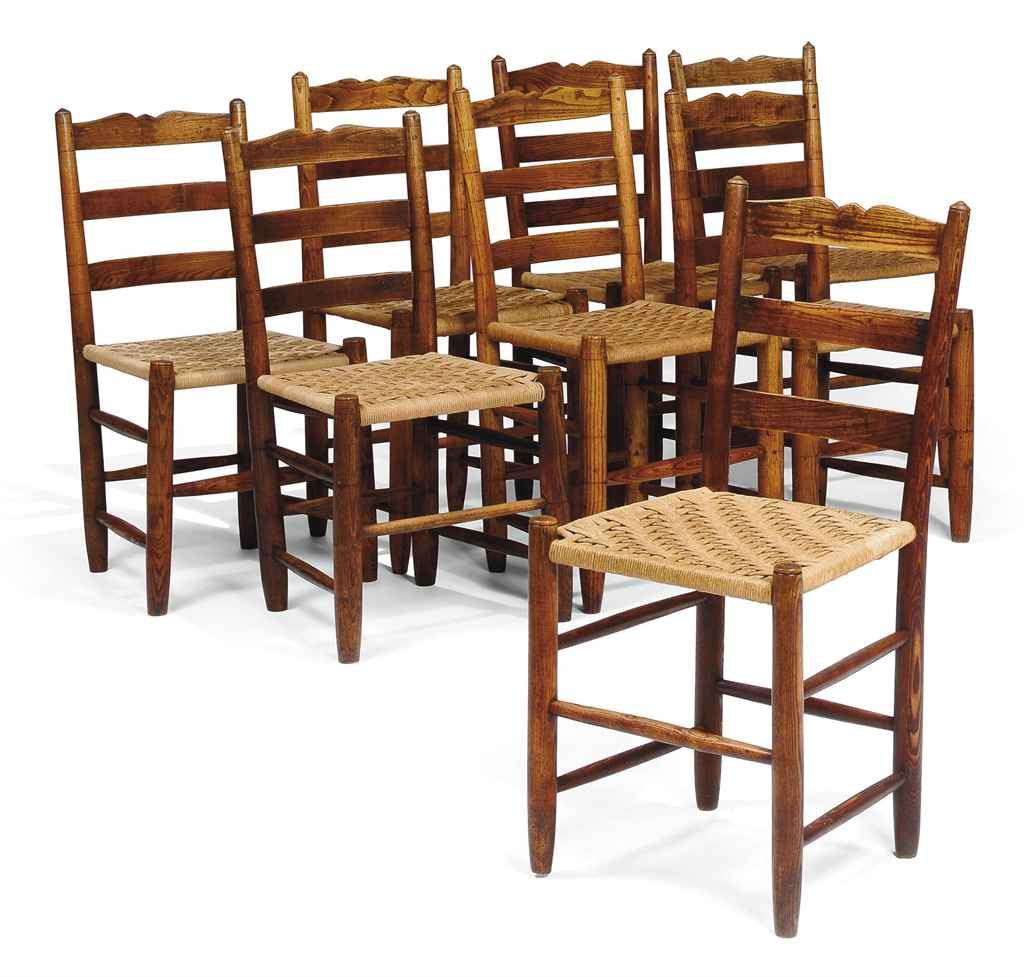 A MATCHED SET OF EIGHT VICTORI