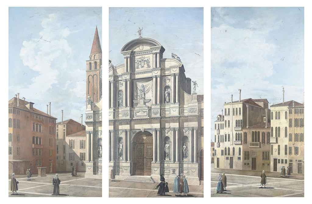 Manner of Bernardo Bellotto