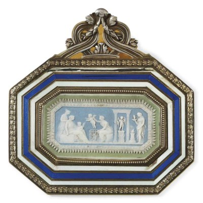 A DIRECTOIRE SILVER-MOUNTED BR