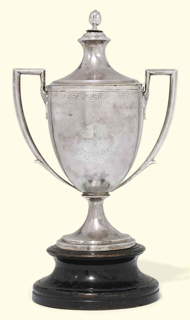 A GEORGE III SCOTTISH SILVER C