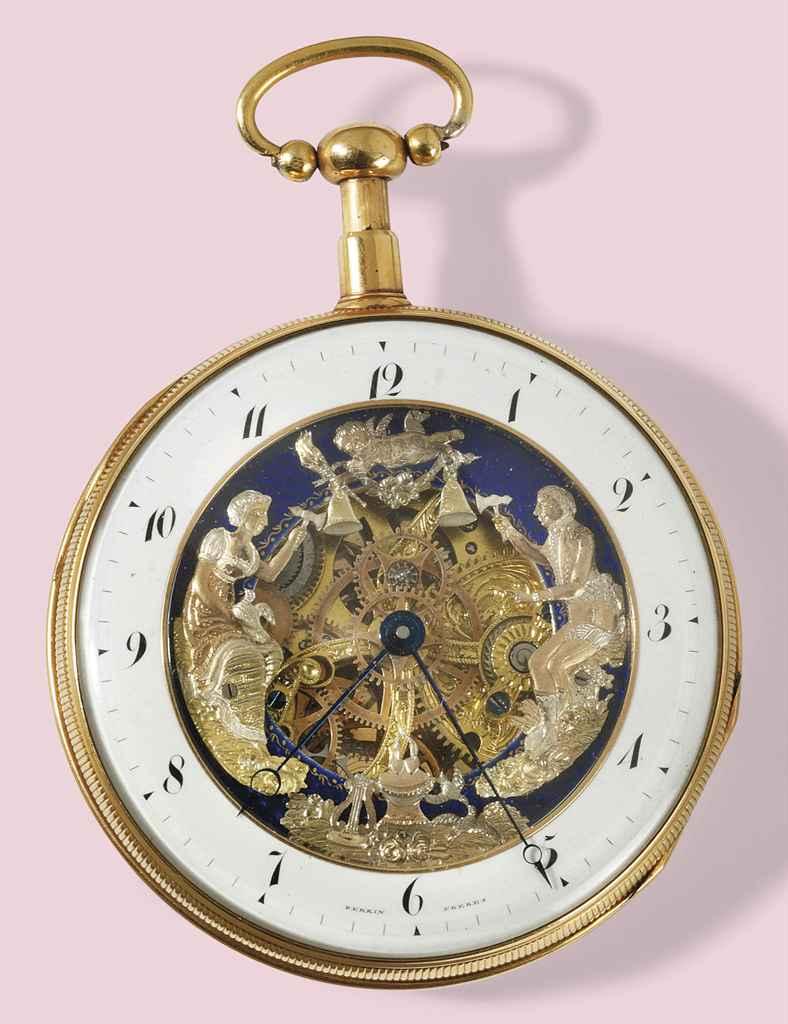 An early 19th century gold qua