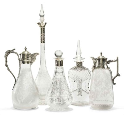 A MID-VICTORIAN SILVER-PLATED