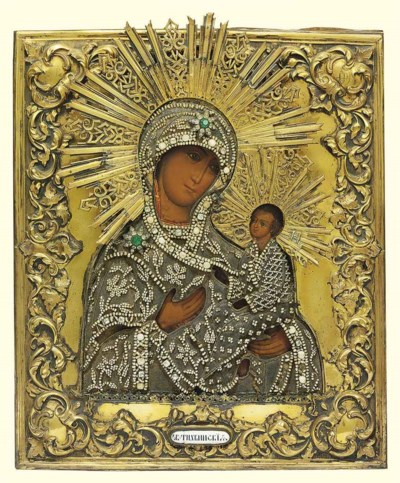 Icon of the Mother God of Tikh