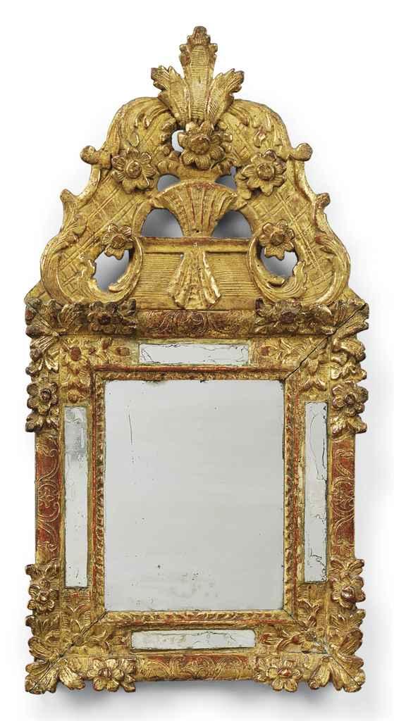 A LOUIS XIV PROVINCIAL GILTWOO