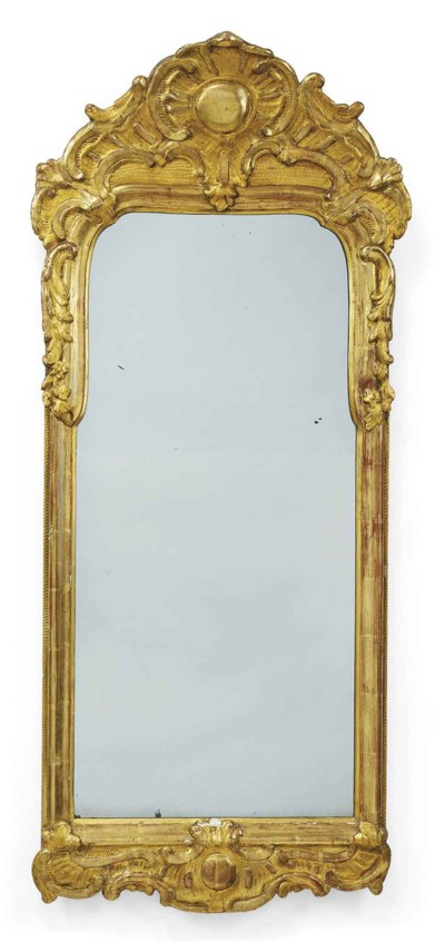 A NORTH EUROPEAN GILTWOOD AND